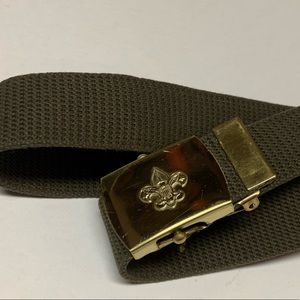 Boy Scouts of America Brass Belt * Vintage * Boys